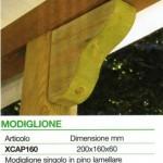 accessori legno modiglione