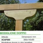 accessori legno modiglione doppio