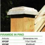 accessori legno piramide pino