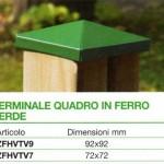 accessori metallo terminale verde